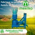 Pletizadora PTO MEELKO MKFD260P