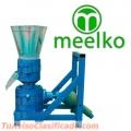 Peletizadora Modelo PTO Meelko