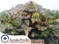 Cascadas artificial de fibra de vidrio, cascadas artificial de piedra pomez