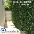 Jardin vertical decorativa, jardin vertical exterior