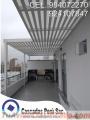 Techos sol y sombra de aluminio, techos exteriores, techos sol y sombra de madera peru,