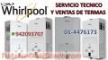 SOPORTE TÉCNICO Y MANTENIMIENTO TERMAS WHIRLPOOL 4476173 SURQUILLO