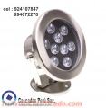 LUCES LED SUMERGIBLES, Luminarias para piscinas, estanques, cascadas, paneles de burbuja