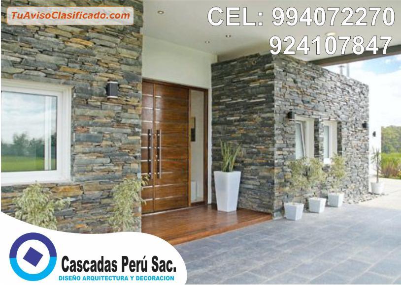 Decoración Con Fachaletas Para Interior O Exterior Muro