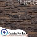 Fachaletas españolas en peru,muro de fachaleta,fachaletas, piedra laja,