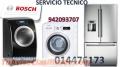 SERVICIO TECNICO LAVADORAS SECADORAS BOSCH 014476173 SURQUILLO