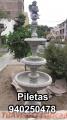 Piletas para jardín de concreto