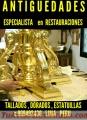 Arte y estilo colonial, REPARACION DE MUEBLES CLASICOS COLONIAL LIMA PERÚ