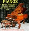 PIANOS antiguos reparacion clasicos solo el mueble