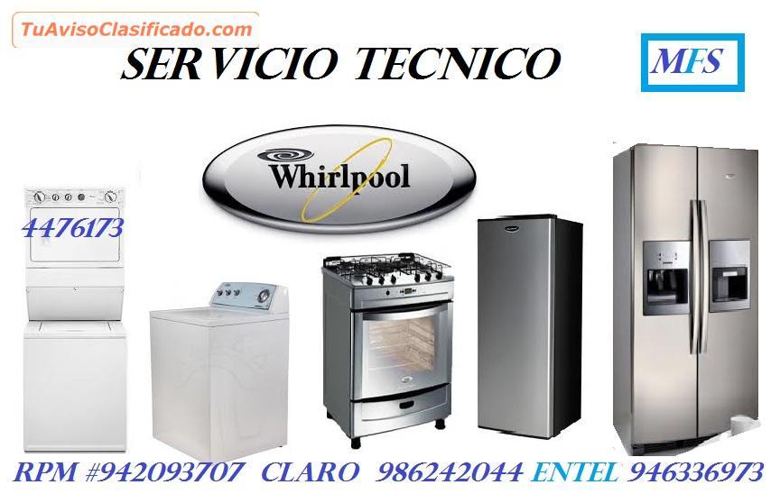 servicio tecnico whirlpool lavadora secadoras 4476173