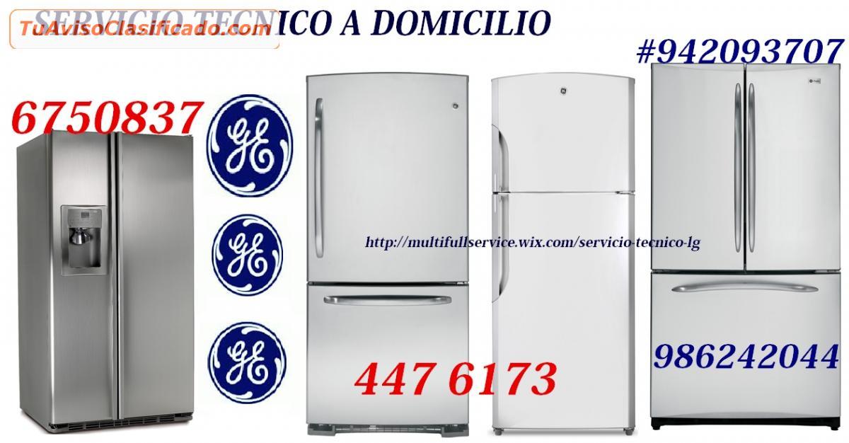 Servicio Tecnico Refrigeradora General Electric 6750837