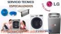 SERVICIO TECNICO LAVADORAS SECADORAS LG 4476173