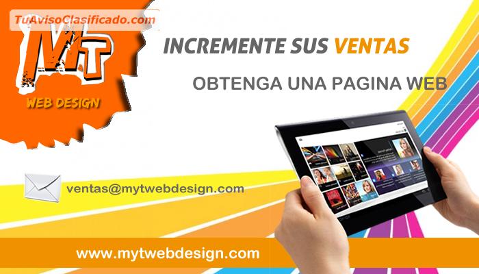 diseño de paginas web + hosting + dominio promociones - computació