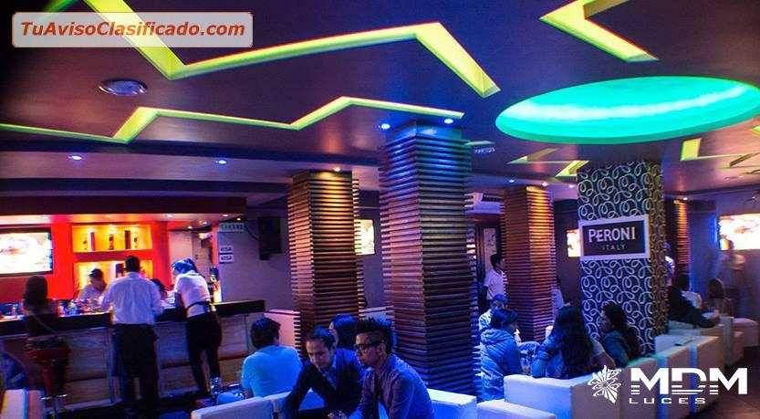 Decoracion Bar Karaoke ~ DECORACION DE DISCOTECAS, KARAOKES, BARES , MDM LUCES