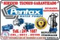 Servicio técnico autorizado =  PEDROLLO = reparación de electrobombas