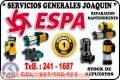 Servicio tecnico de bombas de agua = ESPA = reparacion y rebobinados  991-105-199