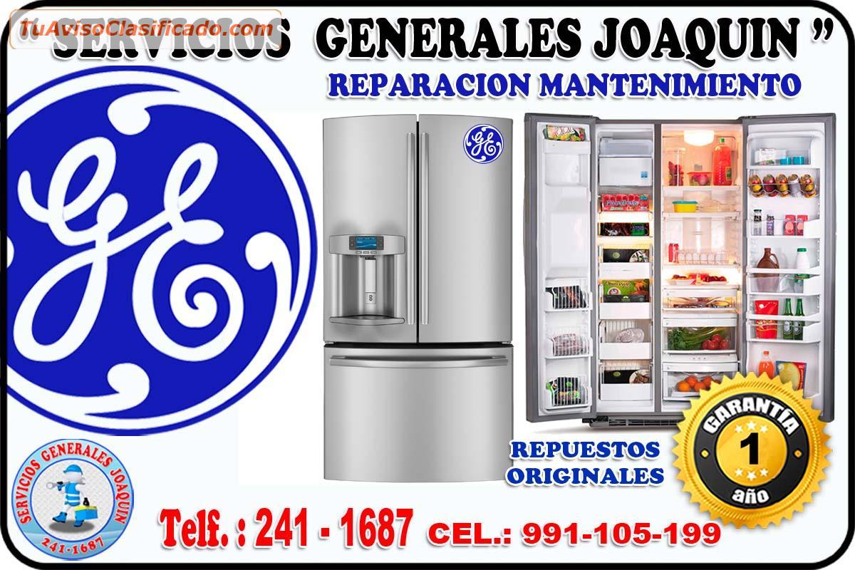 Reparacion De Refrigeradoras Cocinas Secadoras General