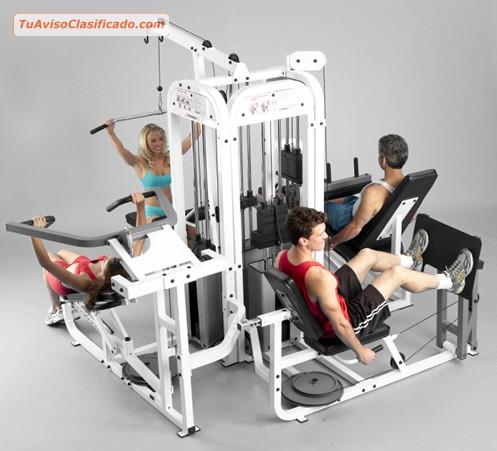 M quinas de gimnasio de deportes y fitness en for Gimnasio de