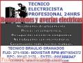 Electricista Miraflores Domicilio Garantia 991473178 - 971654372